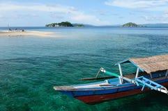 L'Indonesia, Sulawesi. Isole di Togean Fotografie Stock Libere da Diritti