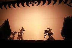 L'indonesiano ombreggia il teatro Fotografie Stock