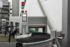 L'industria a macchina svuota il cuscinetto in ozio BO di controllo del nastro trasportatore dei rulli fotografia stock libera da diritti