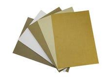 L'industriale impilato di dimensione A4 ricicla la carta kraft per il campione Immagine Stock