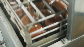 L'industrie alimentaire Fromage traité banque de vidéos