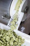 L'industrie fraîche de pâtes Photos libres de droits