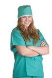 L'infirmière frotte dedans Photo libre de droits