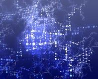 l'information d'échange illustration libre de droits