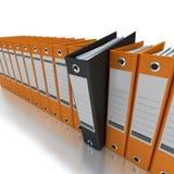 L'information de classement et de organisation Photo libre de droits
