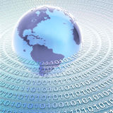 L'information du monde Image stock