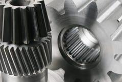 L'ingénierie partie l'encore-durée dans noir/blanc images stock