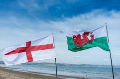 L'Inghilterra e Galles Fotografie Stock Libere da Diritti