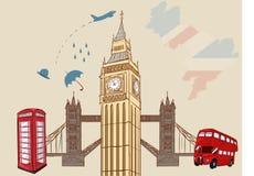 L'Inghilterra - Londra Immagini Stock Libere da Diritti