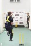 L'Inghilterra 2012 v Australia le quarte sessioni nette internazionali di un giorno Immagini Stock