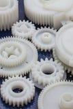 L'ingranaggio di plastica Immagine Stock