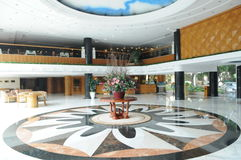 L'ingresso dell'alta società dell'hotel Immagine Stock