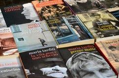 L'inizio del tartufo giusto in alba (Cuneo), è stato tenuto per più di 50 anni, la corsa dell'asino Fotografie Stock Libere da Diritti