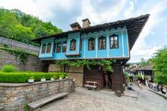 L'inizio dell'esposizione nella riserva naturale di Etera in Bulgaria Fotografie Stock Libere da Diritti