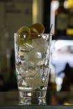L'inizio di un tonico del gin Immagini Stock Libere da Diritti