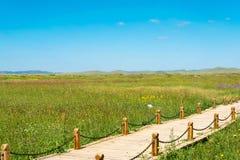 L'INNER MONGOLIA, CHINE - 10 août 2015 : Site de Xanadu (monde Herit photos stock