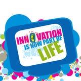 L'innovation est maintenant une partie de la vie Images stock