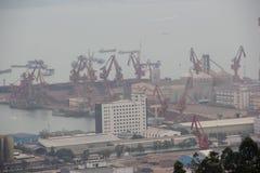 L'inquinamento atmosferico Immagine Stock