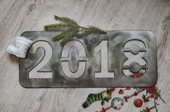 L'inscription 2018 du ` s de nouvelle année Photo libre de droits