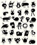 L'insecte aiment des créatures illustration libre de droits