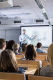 L'insegnamento può essere una passione Fotografia Stock