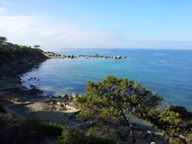 L'insenatura del blu della Sardegna Fotografie Stock Libere da Diritti