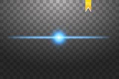 L'insieme creativo di vettore di concetto delle stelle di effetto della luce di incandescenza scoppia con le scintille isolate su royalty illustrazione gratis