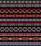 L'insieme del lase senza cuciture sistema il modello del confine Fotografia Stock