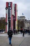 L'installation du ` de monument de ` d'illustration Photographie stock libre de droits