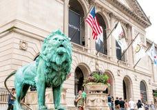 L'institut d'art de Chicago photo stock