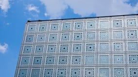 L'Institut du Monde Arabe Παρίσι Γαλλία Στοκ εικόνα με δικαίωμα ελεύθερης χρήσης