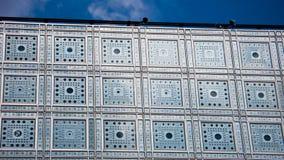 L'Institut du Monde Arabe paris france Fotografering för Bildbyråer