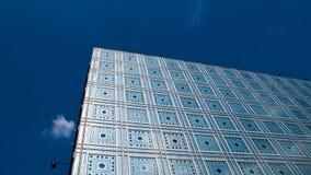 L'Institut du Monde Arabe paris france Arkivfoton
