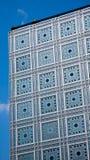 L'Institut du Monde Arabe paris france Arkivbilder