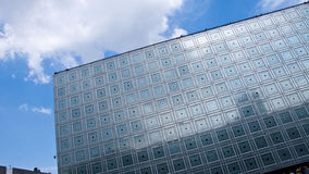 L'Institut du Monde Arabe. Paris. France. Stock Photos