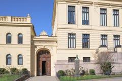 L'institut norvégien Nobel à Oslo Photographie stock