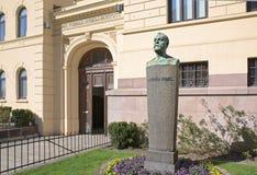 L'institut norvégien Nobel à Oslo Photo stock