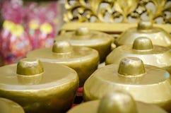 L'instrument de musique traditionnel malaisien a appelé Gamelan photo stock
