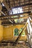 L'intérieur abandonné Photos stock