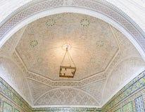 L'intérieur arabe médiéval image stock