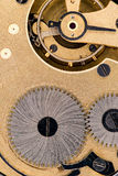L'intérieur d'une montre de poche Image stock