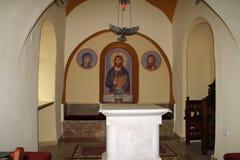 L'intérieur de Churchs Photo stock