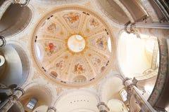 L'intérieur de Frauenkirche images libres de droits