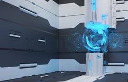 L'intérieur de l'avenir Image stock