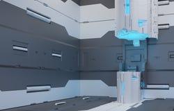 L'intérieur de l'avenir Images stock