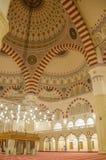 L'intérieur de la mosquée dans Ashgabad Photo libre de droits