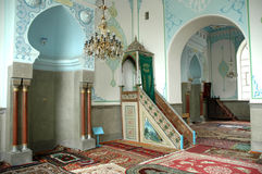 L'intérieur de la mosquée de Jumah à Tbilisi, la Géorgie Image stock