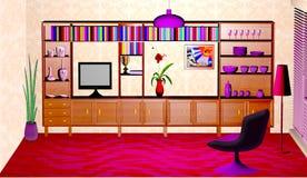 L'intérieur de la salle Images stock