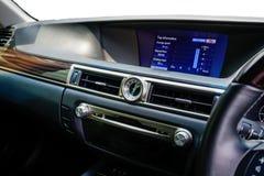 L'intérieur de la voiture 2 image libre de droits