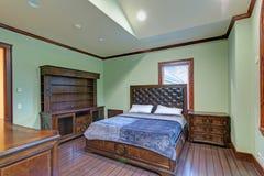 L'intérieur de lieu de rendez-vous de mariage comporte une chambre à coucher en bon état de accueil photographie stock libre de droits